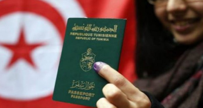 Le passeport Tunisien